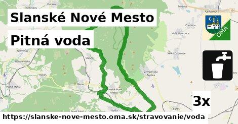 ilustračný obrázok k Pitná voda, Slanské Nové Mesto