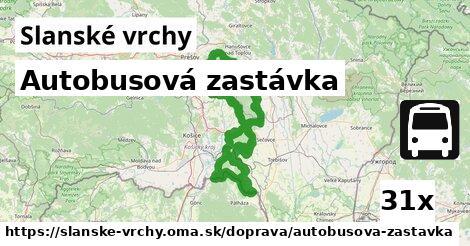 ilustračný obrázok k Autobusová zastávka, Slanské vrchy