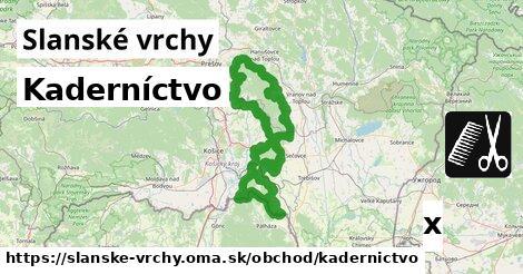ilustračný obrázok k Kaderníctvo, Slanské vrchy