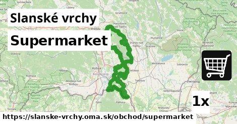 ilustračný obrázok k Supermarket, Slanské vrchy