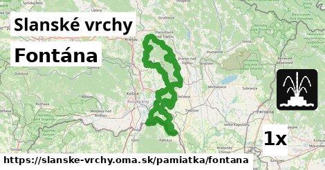 ilustračný obrázok k Fontána, Slanské vrchy