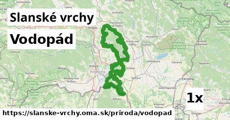 ilustračný obrázok k Vodopád, Slanské vrchy