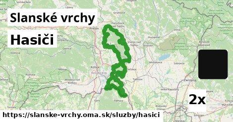 ilustračný obrázok k Hasiči, Slanské vrchy