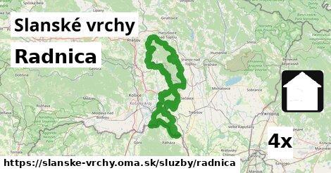 ilustračný obrázok k Radnica, Slanské vrchy