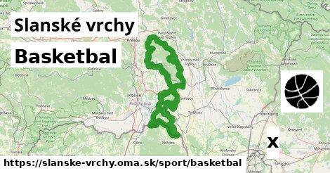 ilustračný obrázok k Basketbal, Slanské vrchy