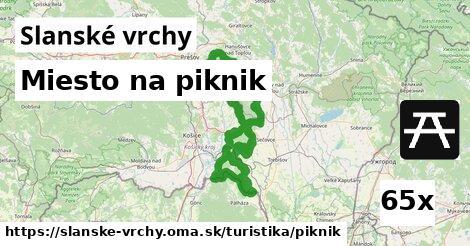 ilustračný obrázok k Miesto na piknik, Slanské vrchy