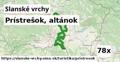 ilustračný obrázok k Prístrešok, altánok, Slanské vrchy