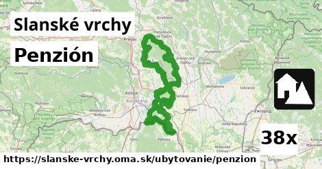 ilustračný obrázok k Penzión, Slanské vrchy