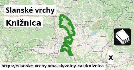 ilustračný obrázok k Knižnica, Slanské vrchy