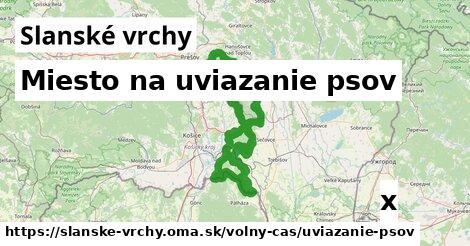 ilustračný obrázok k Miesto na uviazanie psov, Slanské vrchy