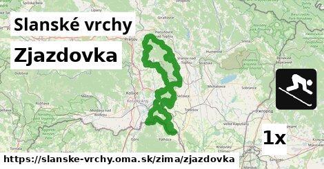 ilustračný obrázok k Zjazdovka, Slanské vrchy