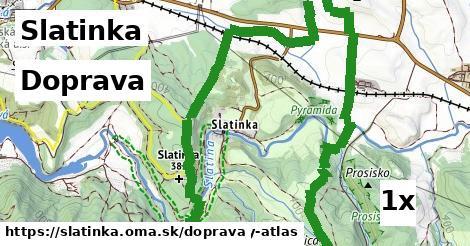 doprava v Slatinka