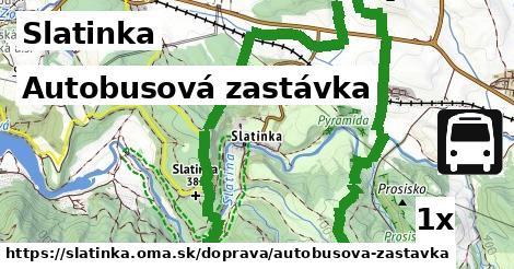 ilustračný obrázok k Autobusová zastávka, Slatinka