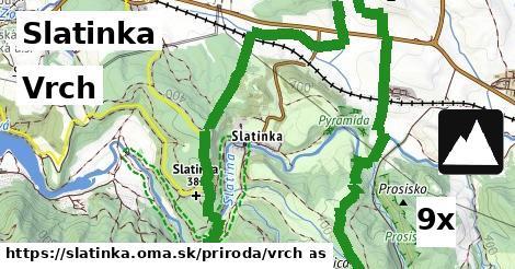 vrch v Slatinka