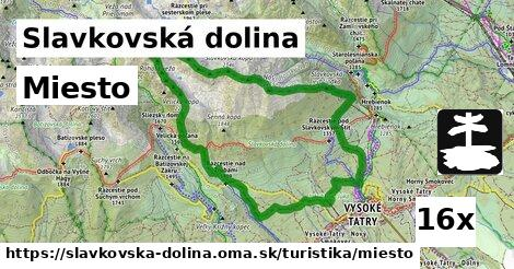 miesto v Slavkovská dolina