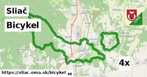 bicykel v Sliač