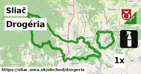 Drogéria, Sliač