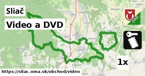 Video a DVD, Sliač