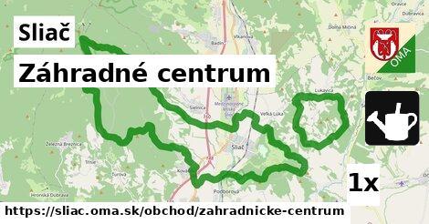 záhradné centrum v Sliač