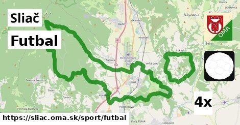 Futbal, Sliač