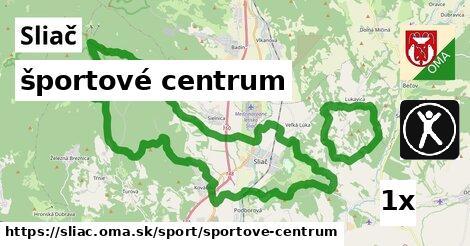 športové centrum v Sliač