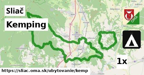 Kemping, Sliač