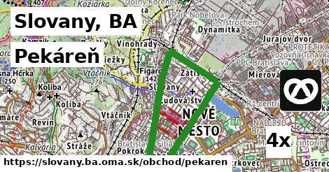 pekáreň v Slovany, BA