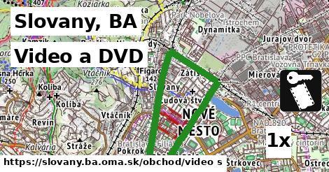 video a DVD v Slovany, BA