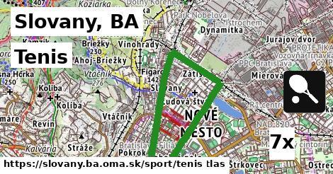 tenis v Slovany, BA