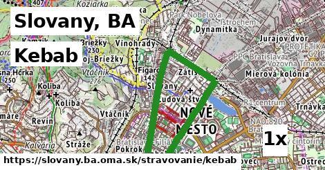 ilustračný obrázok k Kebab, Slovany, BA