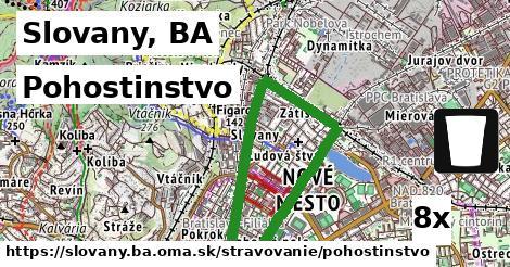 pohostinstvo v Slovany, BA