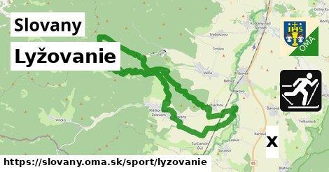 lyžovanie v Slovany