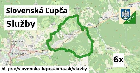 služby v Slovenská Ľupča