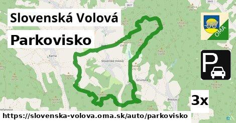 parkovisko v Slovenská Volová