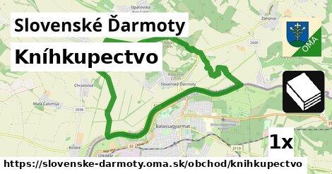 kníhkupectvo v Slovenské Ďarmoty