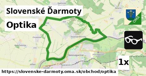optika v Slovenské Ďarmoty