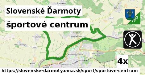 športové centrum v Slovenské Ďarmoty