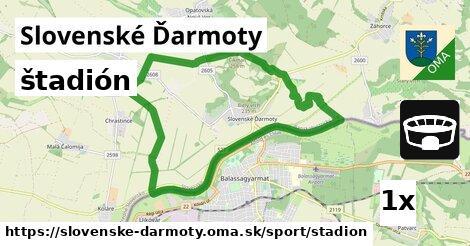štadión v Slovenské Ďarmoty