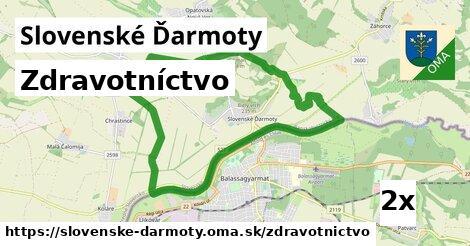 zdravotníctvo v Slovenské Ďarmoty