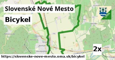 bicykel v Slovenské Nové Mesto