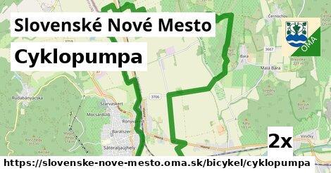 cyklopumpa v Slovenské Nové Mesto
