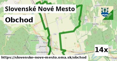 obchod v Slovenské Nové Mesto