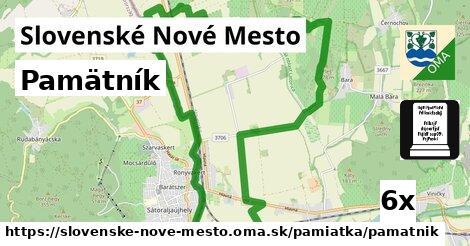 pamätník v Slovenské Nové Mesto