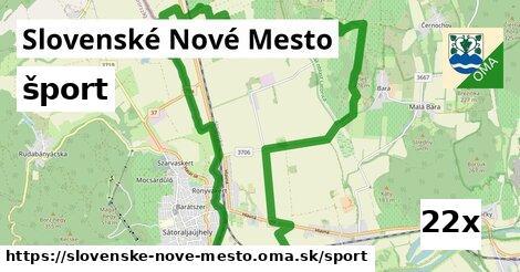 šport v Slovenské Nové Mesto