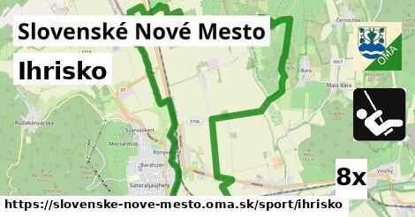 ihrisko v Slovenské Nové Mesto