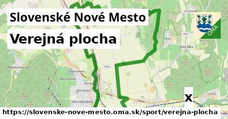verejná plocha v Slovenské Nové Mesto
