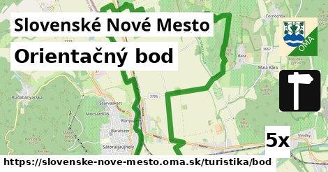 orientačný bod v Slovenské Nové Mesto