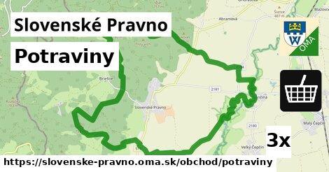 potraviny v Slovenské Pravno