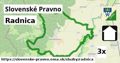 radnica v Slovenské Pravno