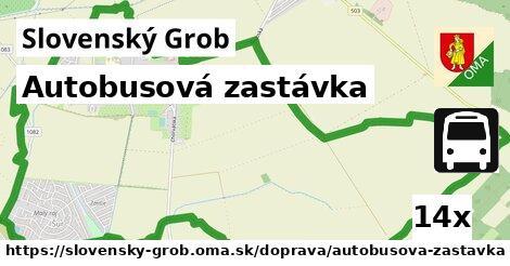 ilustračný obrázok k Autobusová zastávka, Slovenský Grob